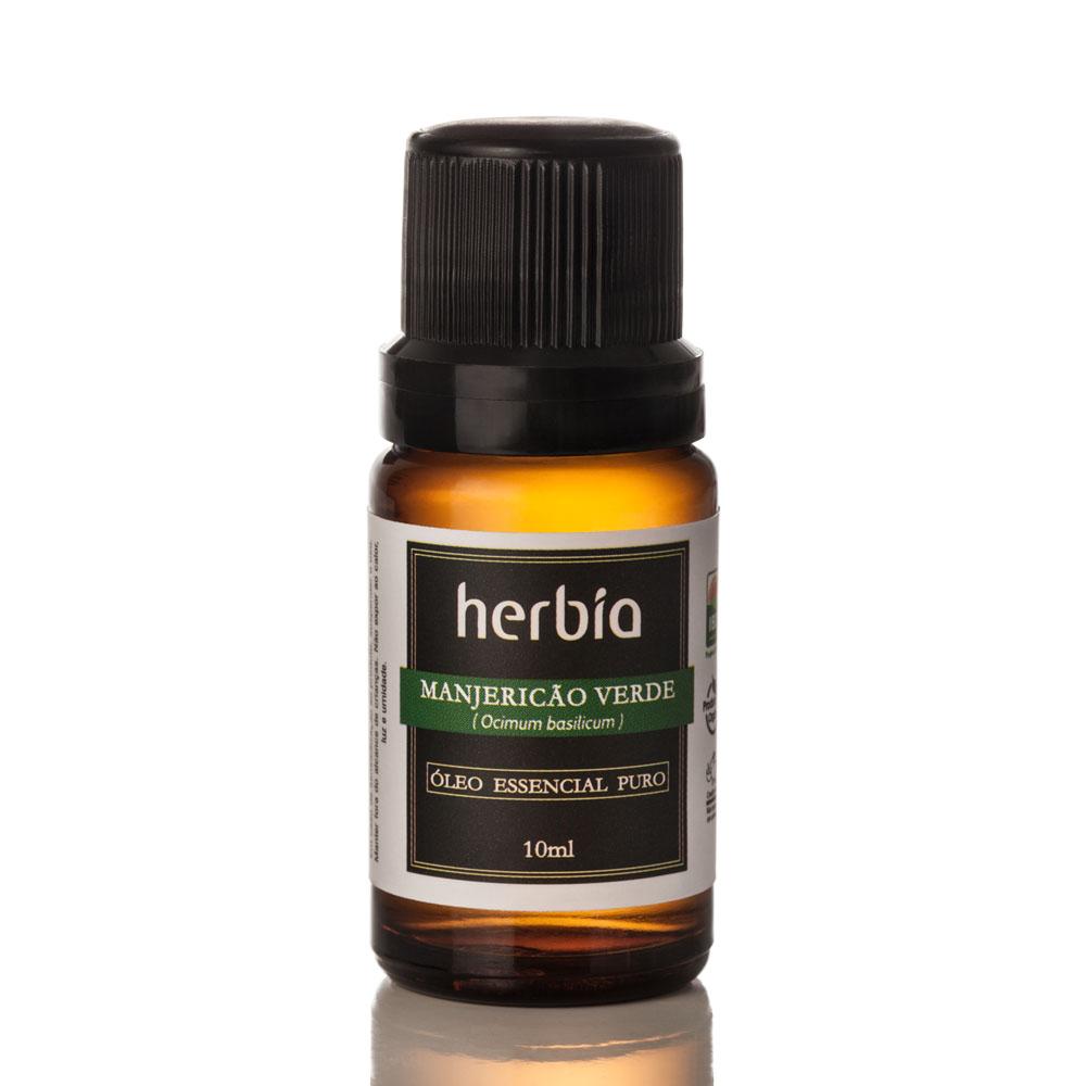 Óleo Essencial Orgânico Herbia de Manjericão 10 ml