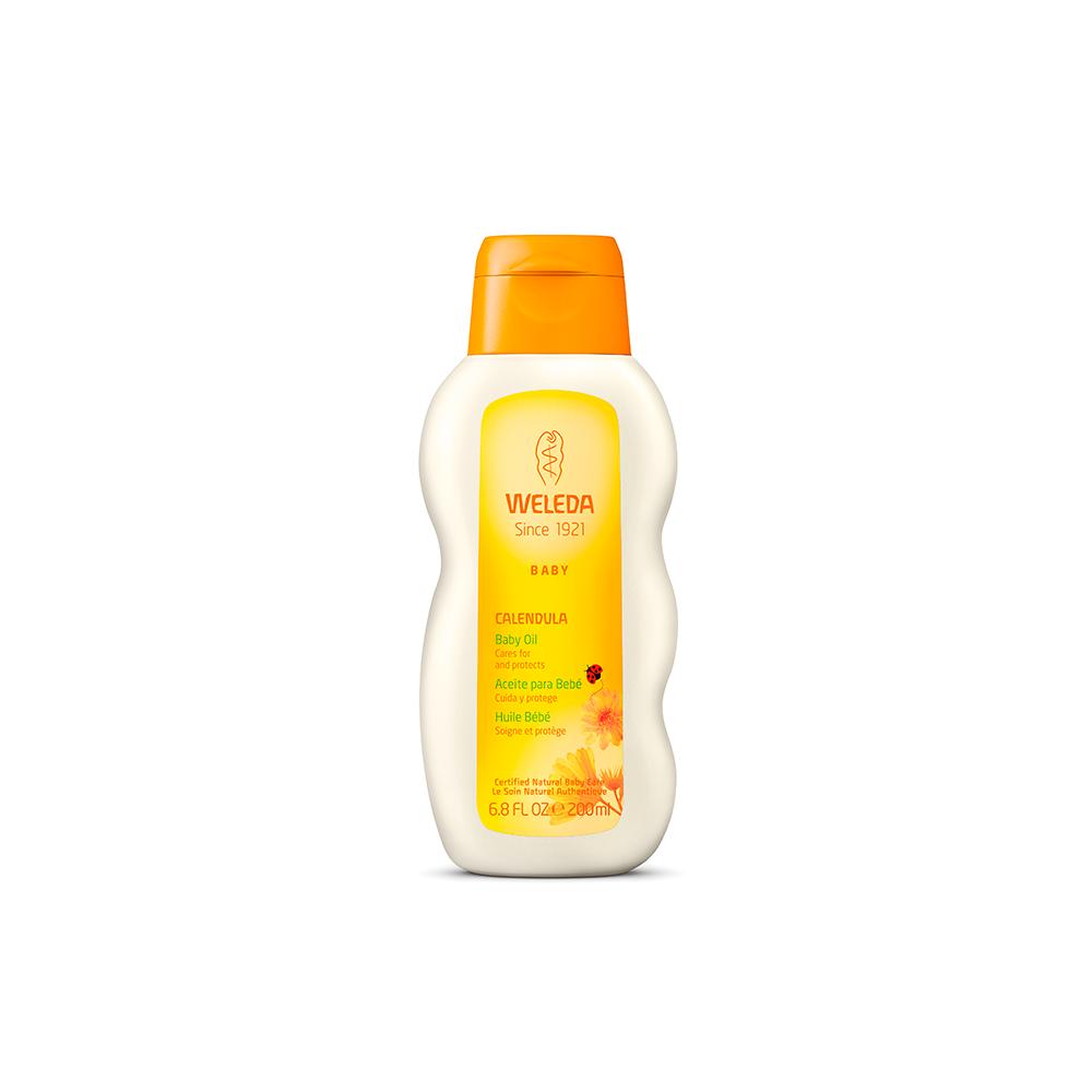 Óleo Hidratante Calêndula Weleda Baby 200 ml