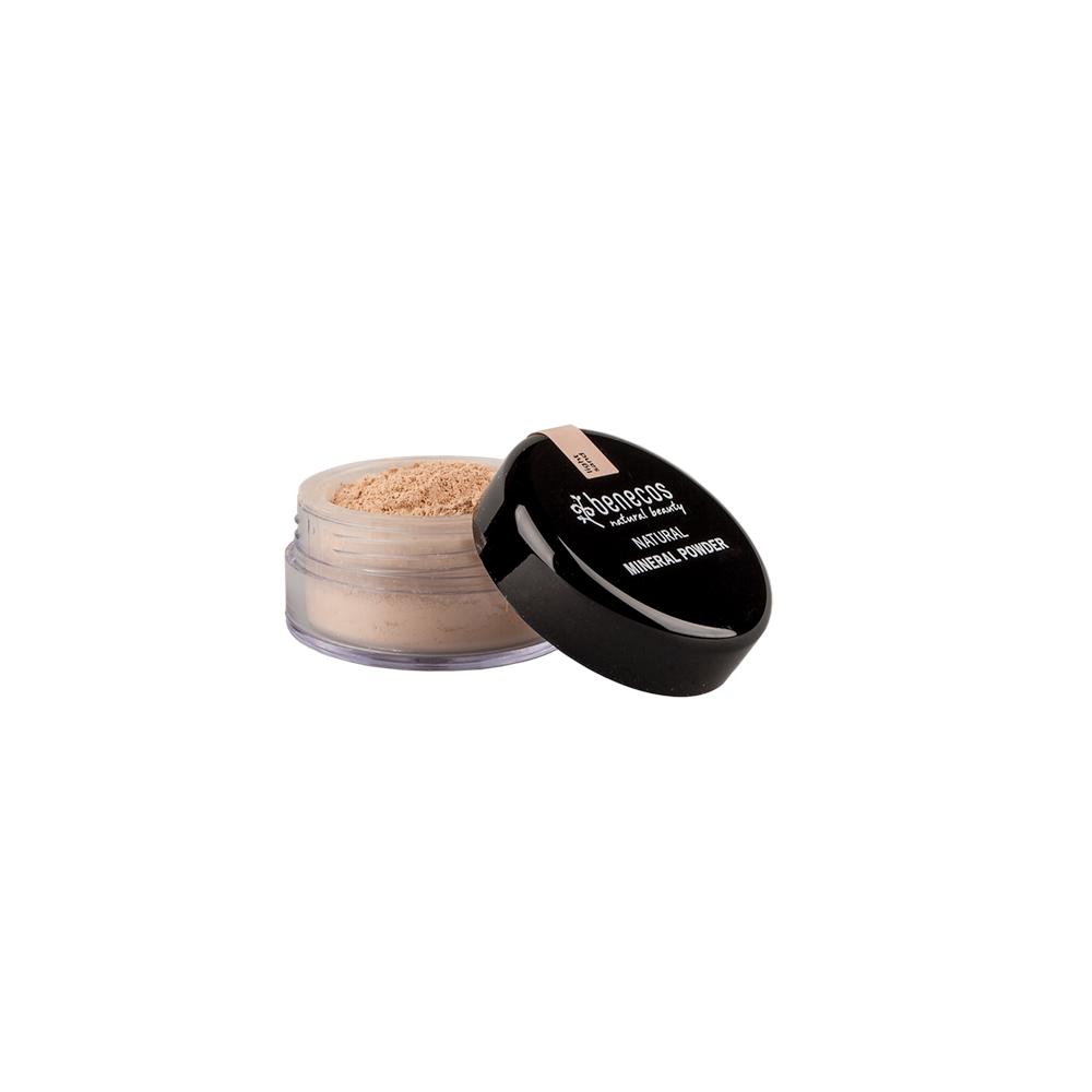 Pó Facial Natural e Vegano Light Sand - Benecos 10g