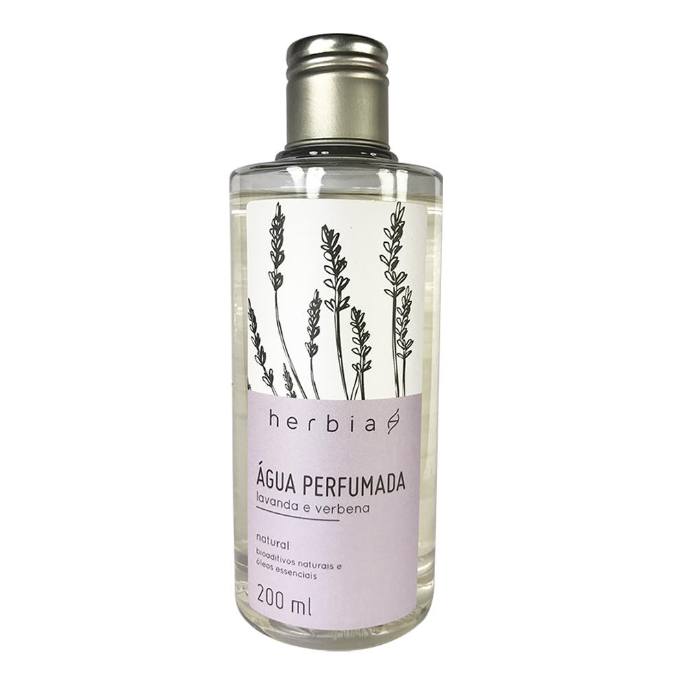 Refil Água Perfumada Lavanda e Verbena Branca Herbia 200 ml