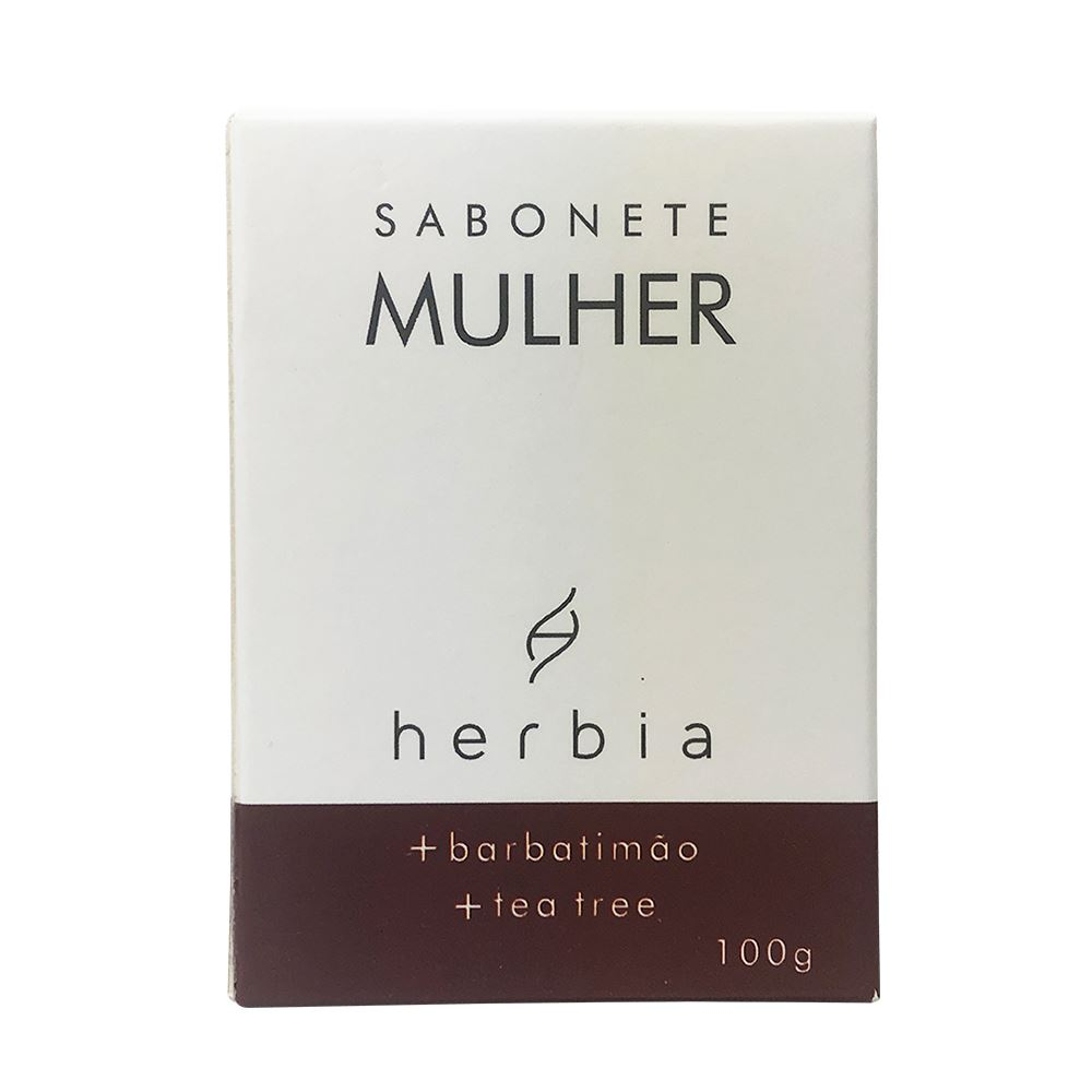 Sabonete Natural e Vegano Mulher Herbia 100g