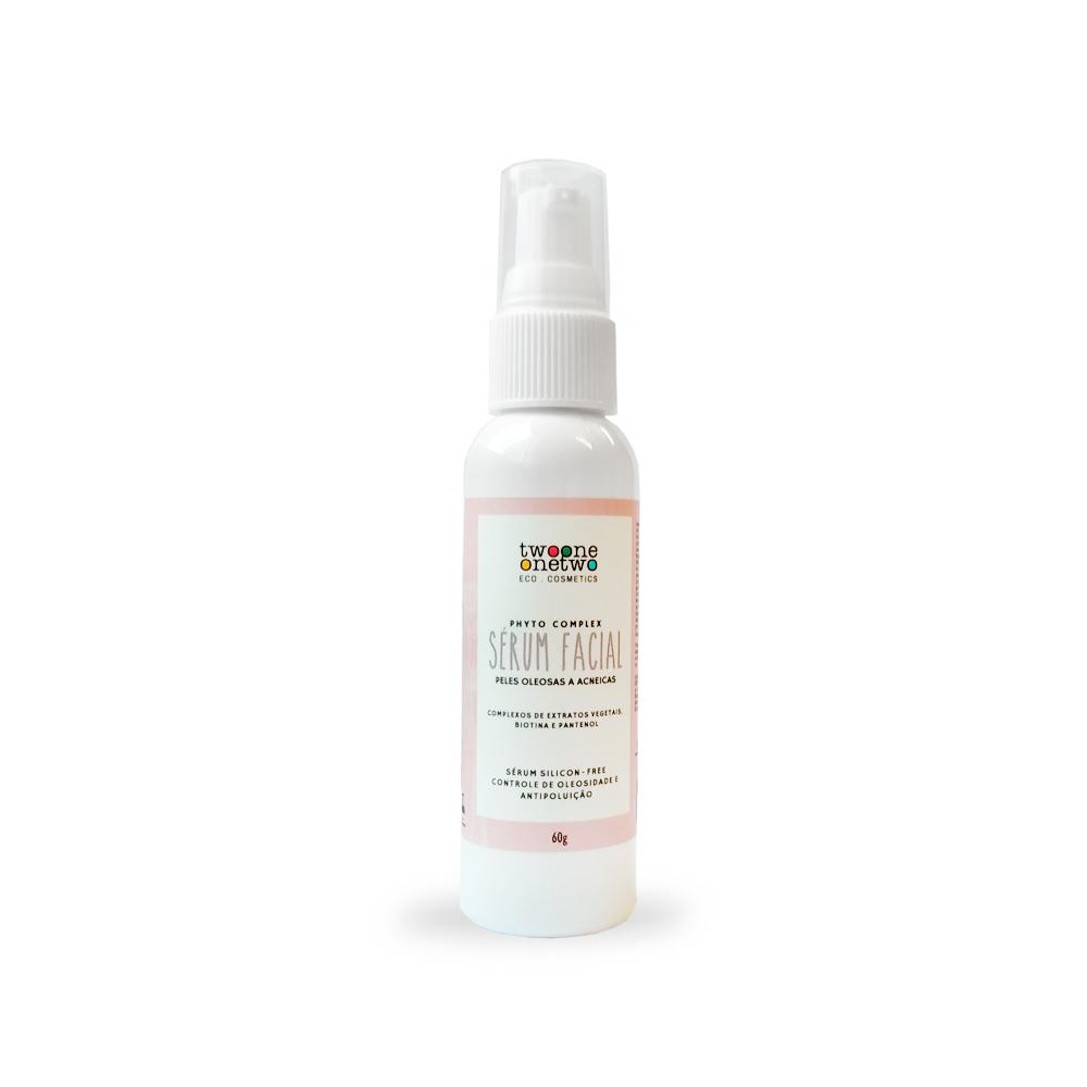 Sérum Facial Natural e Vegano Anti-oleosidade com Rose Hips e Chicória Twoone Onetwo 60 g