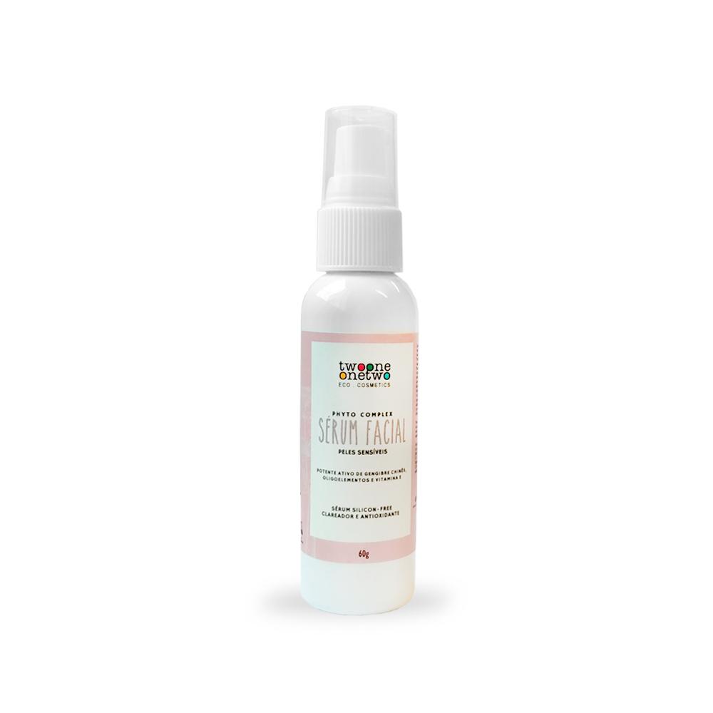 Sérum Facial Natural e Vegano Clareador com Gengibre Twoone Onetwo 60 g