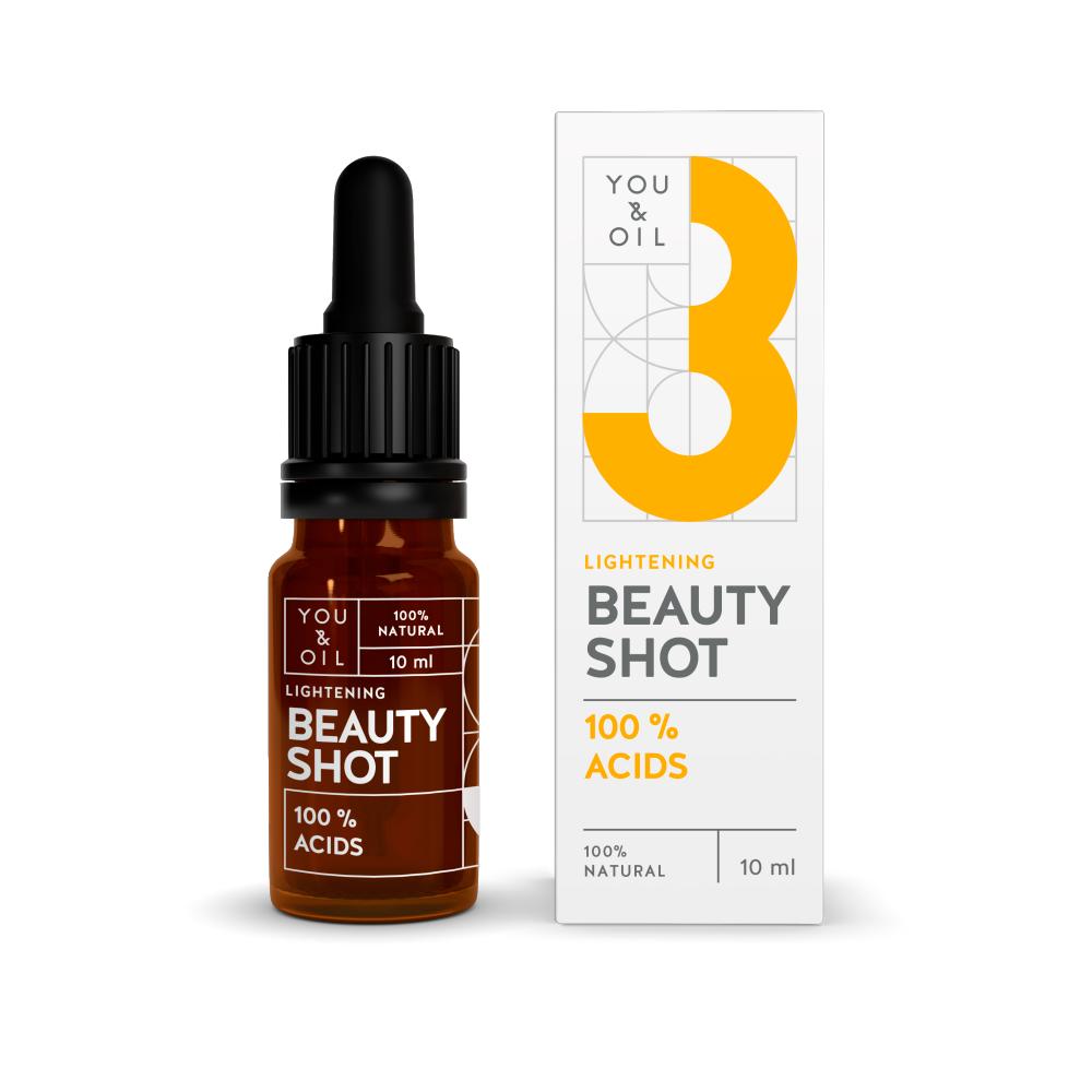 Sérum Facial Natural e Vegano Pele de Porcelana Beauty Shot  – You & Oil 10ml