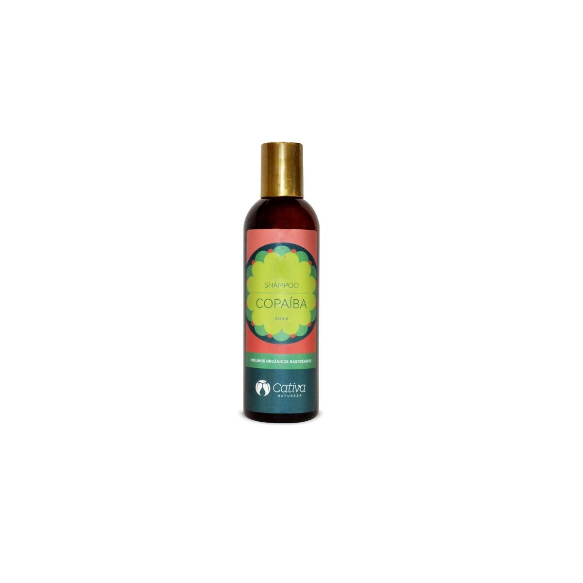 Shampoo Natural e Vegano Cativa Natureza de Copaíba 240 ml
