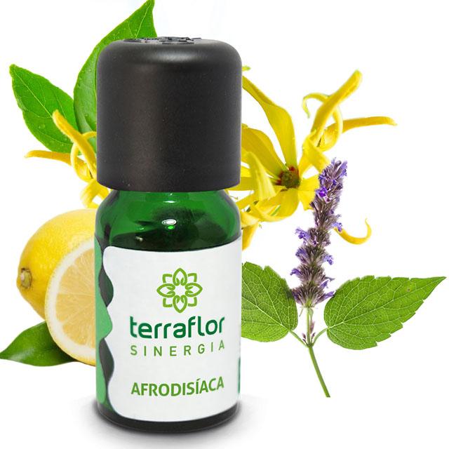Sinergia Afrodisíaca de Óleos Essenciais Terra Flor 10 ml