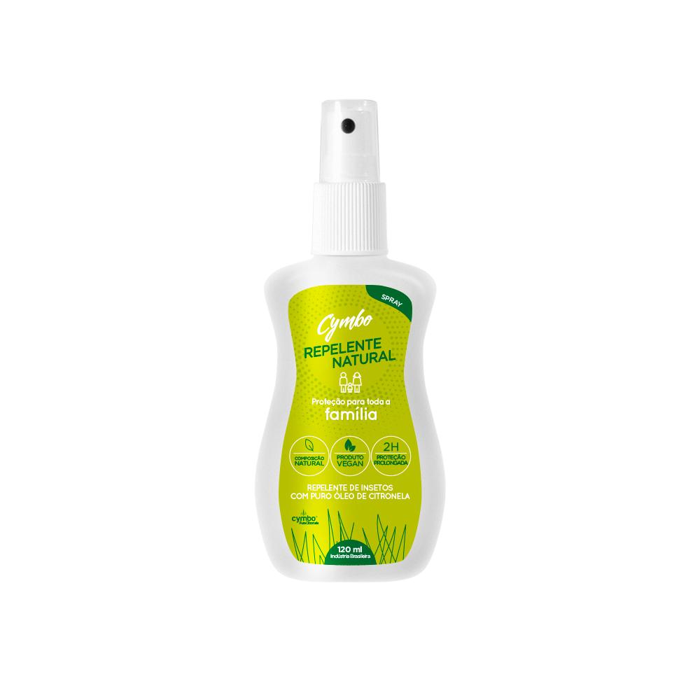 Spray Repelente Natural e Vegano Cymbo 120 ml
