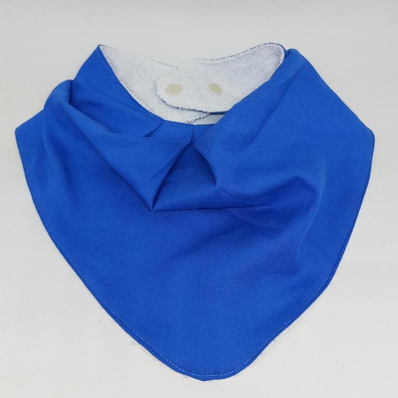 Babadores Azul Celeste, Azul Riscado e Âncoras - Leve 3 Pague 2