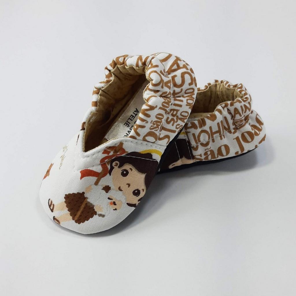Coleção Santinhos - Sapatinho Pantufinha São João