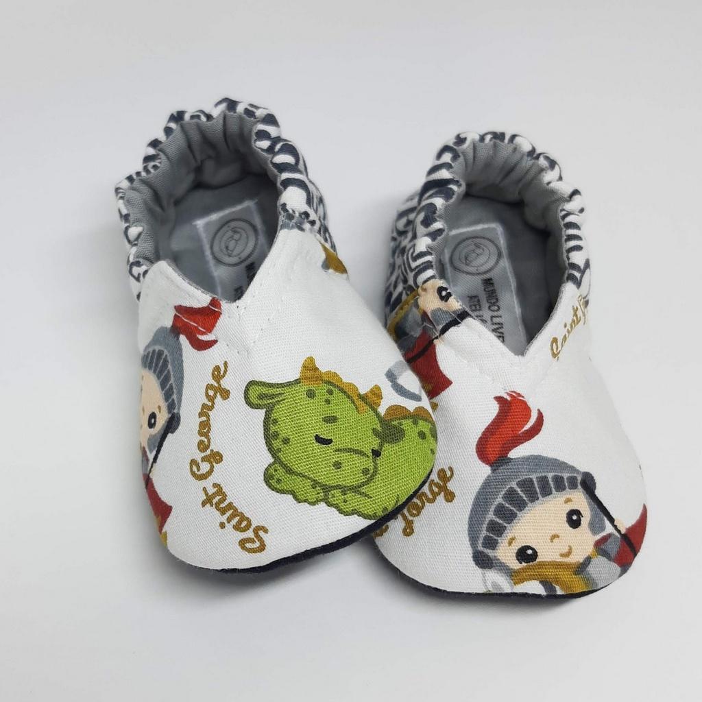 Coleção Santinhos - Sapatinho Pantufinha São Jorge