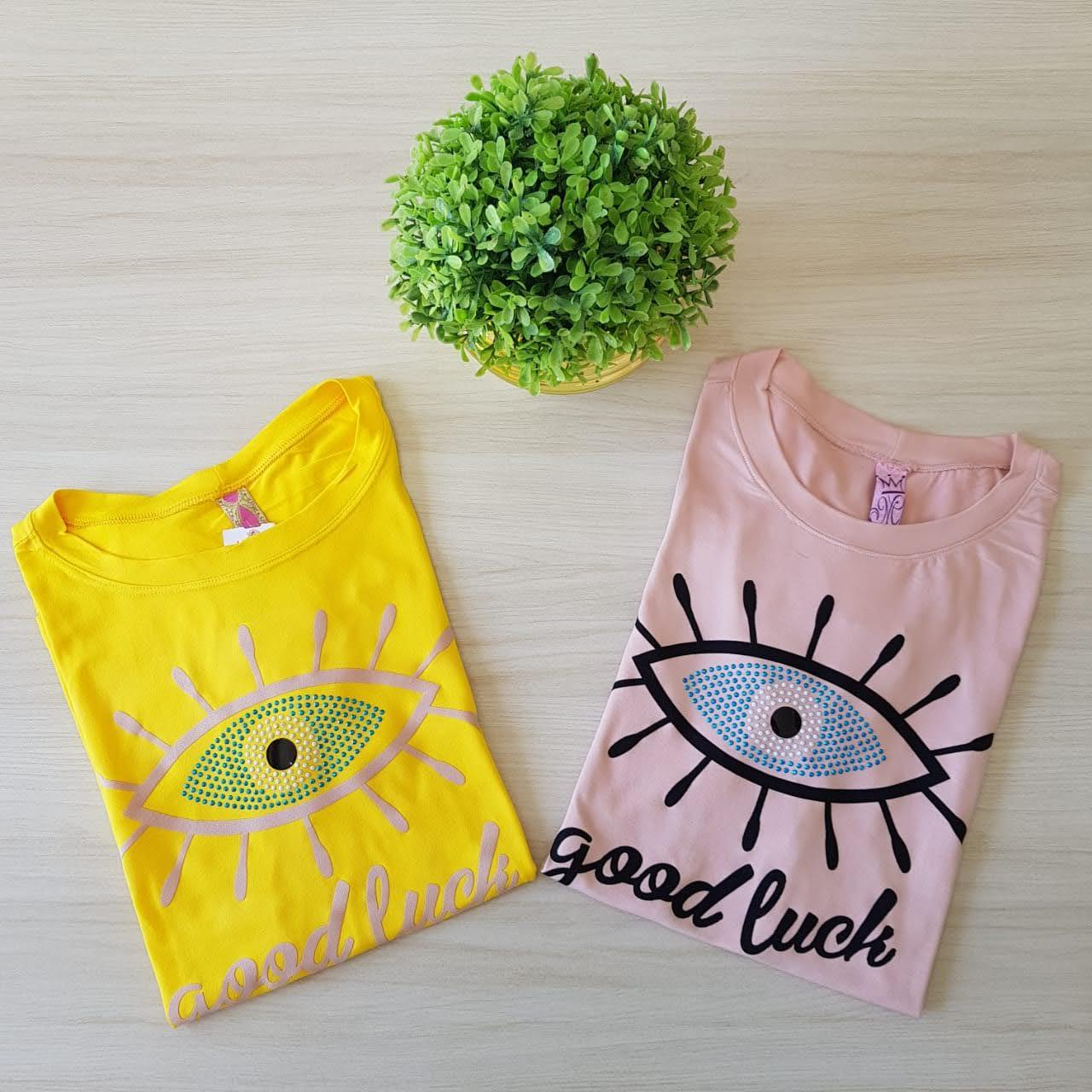 T-shirt good luck