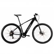 Bicicleta Elétrica Oggi Big Wheel 8.0 Aro 29 7V - 2021 - Preto e Cinza