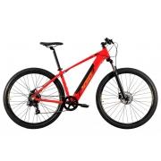 Bicicleta Elétrica Oggi Big Wheel 8.0 Aro 29 7V - 2021 - Vermelho e Dourado