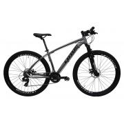 Bicicleta Lotus Aluminium Aro 29 21V - Cinza