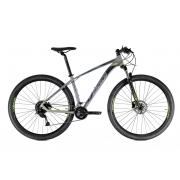 Bicicleta Oggi Big Wheel 7.0 Aro 29 18V - 2021 - Cinza e Verde