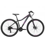 Bicicleta Oggi Float 5.0 HDS Aro 29 24V - Preto, Rosa e Azul