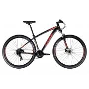 Bicicleta Oggi Hacker HDS Aro 29 24V - 2021 - Preto e Vermelho