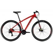 Bicicleta Oggi Hacker Sport Aro 29 21V - 2021 - Vermelho