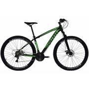 Bicicleta South Legend Aro 29 21V - Preto e Verde