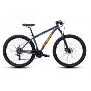 Bicicleta TSW Ride Aro 29 21V - Cinza e Laranja