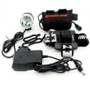 Farol High One 900 Lumens HOFRL0011 com bateria e carregador