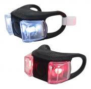 Kit Lanterna Dianteira e Traseira Led Branco e Vermelho HL-009
