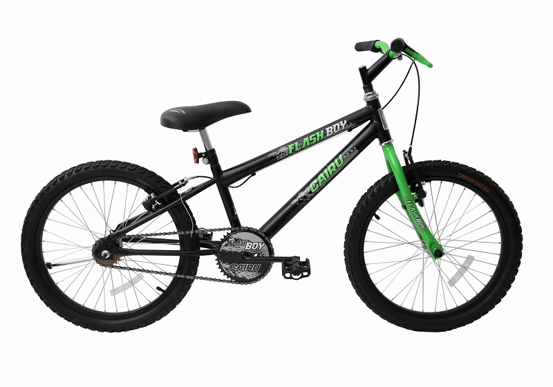 Bicicleta Cairu Flash Boy Aro 20 18V