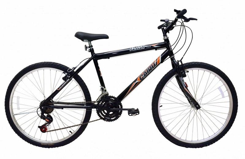 Bicicleta Cairu Flash Pro Aro 26 21V - Preto