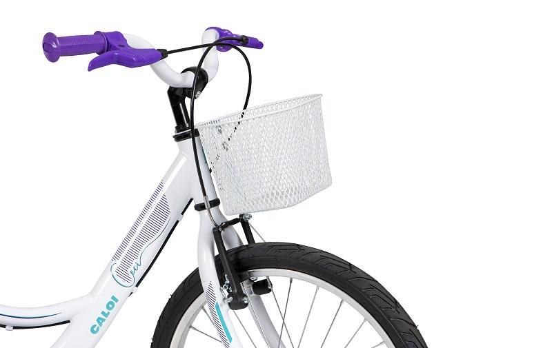 Bicicleta Caloi Ceci Aro 20 - Branco
