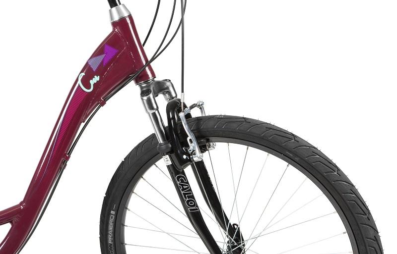 Bicicleta Caloi Ceci Aro 26 21V - Vinho