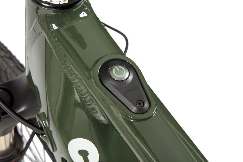 Bicicleta Elétrica Caloi E-vibe City Tour Aro 700 9V - 2021 - Verde