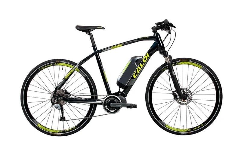 Bicicleta Caloi E-vibe City Tour Aro 700 9V com pneus MTB Pirelli 2.2