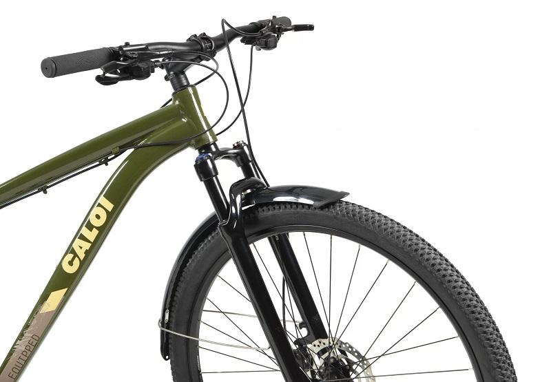 Bicicleta Caloi Explorer Equiped Aro 29 24V - 2021 - Verde