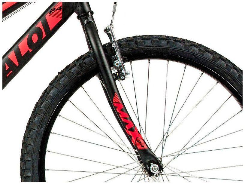 Bicicleta Caloi Max Aro 24 21V - Preto