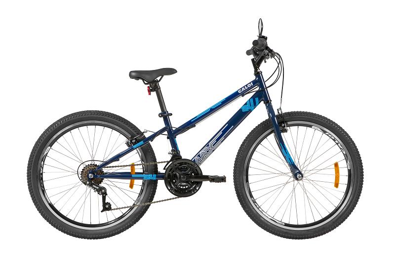 Bicicleta Caloi Max Aro 24 21V - Azul