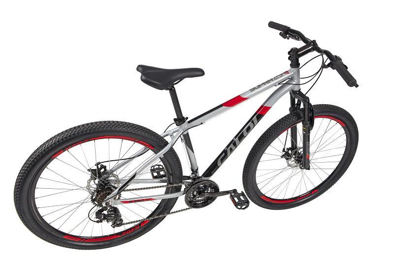 Bicicleta Caloi Supra Aro 29 21V - Prata