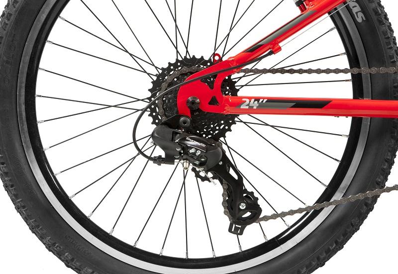 Bicicleta Caloi Wild Aro 24 8V