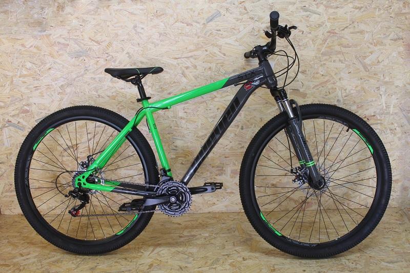 Bicicleta Elleven STX Aro 29 21V - Cinza e Verde