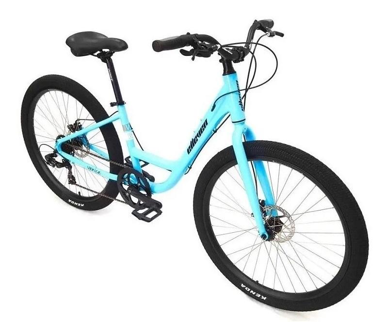 Bicicleta Elleven Venice Urbana Aro 27,5 7V - Azul