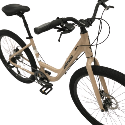 Bicicleta Elleven Venice Urbana Aro 27,5 7V - Marrom