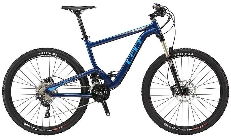 Bicicleta GT Helion Elite Aro 27,5 20V - Azul