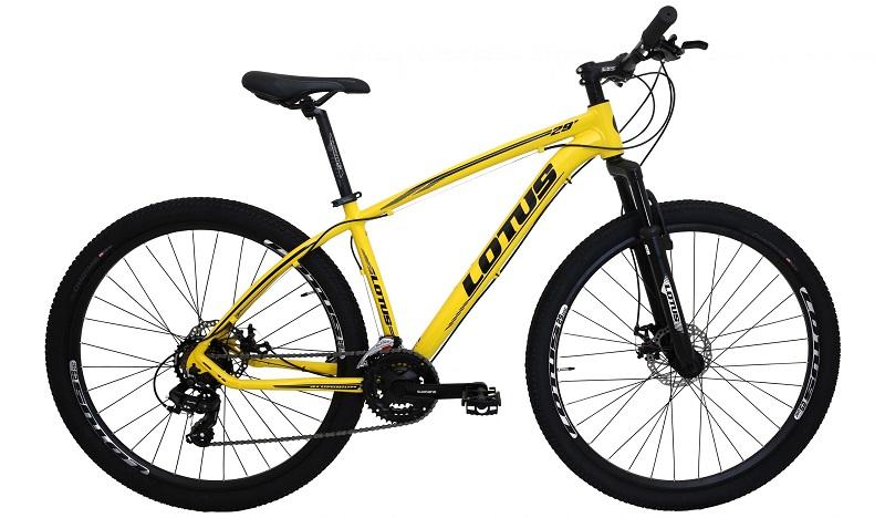 Bicicleta Lotus Aluminium Aro 29 21V - Amarelo
