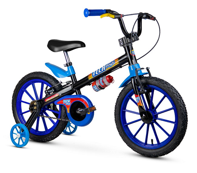 Bicicleta Nathor Tech Boys Aro 16