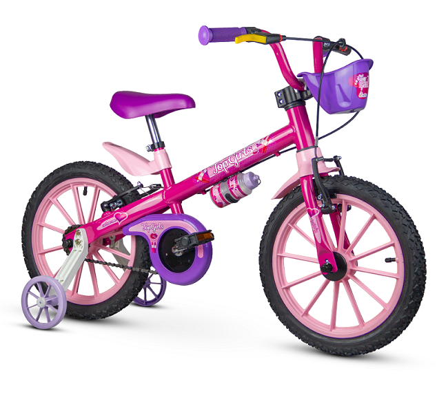 Bicicleta Nathor Top Girls Aro 16
