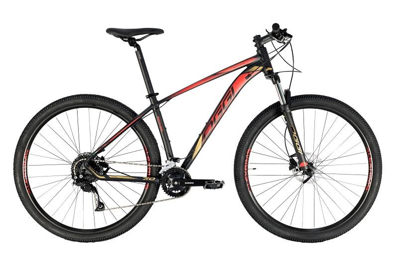 Bicicleta Oggi Big Wheel 7.0 Aro 29 18V - 2021 - Preto e Vermelho