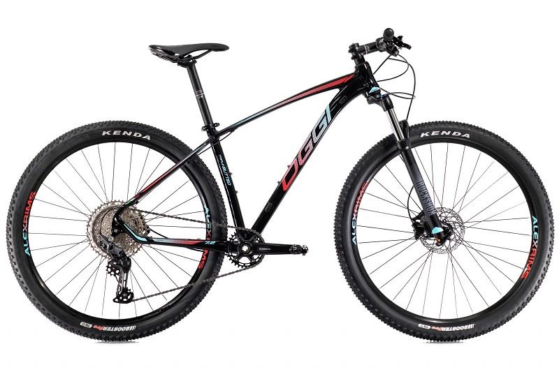 Bicicleta Oggi Big Wheel 7.2 Aro 29 11V - 2021 - Preto, Azul e Vermelho