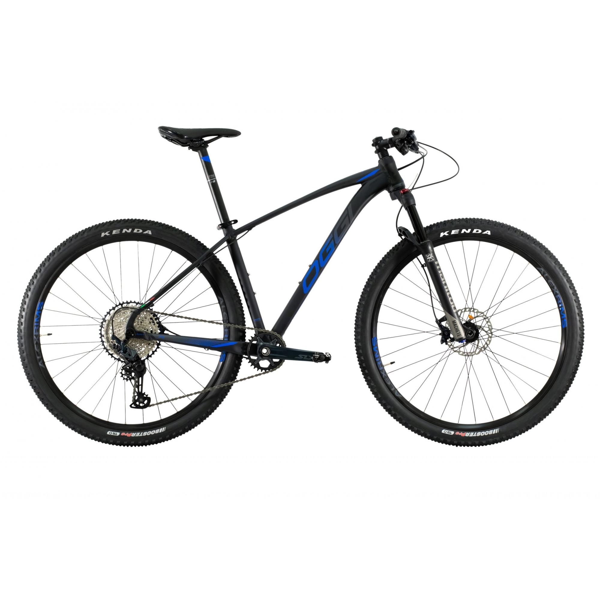 Bicicleta Oggi Big Wheel 7.4 Aro 29 12V - 2021 - Preto e Azul