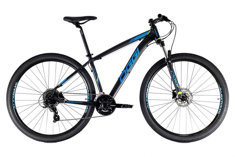 Bicicleta Oggi Hacker HDS Aro 29 24V - 2021 - Preto e Azul