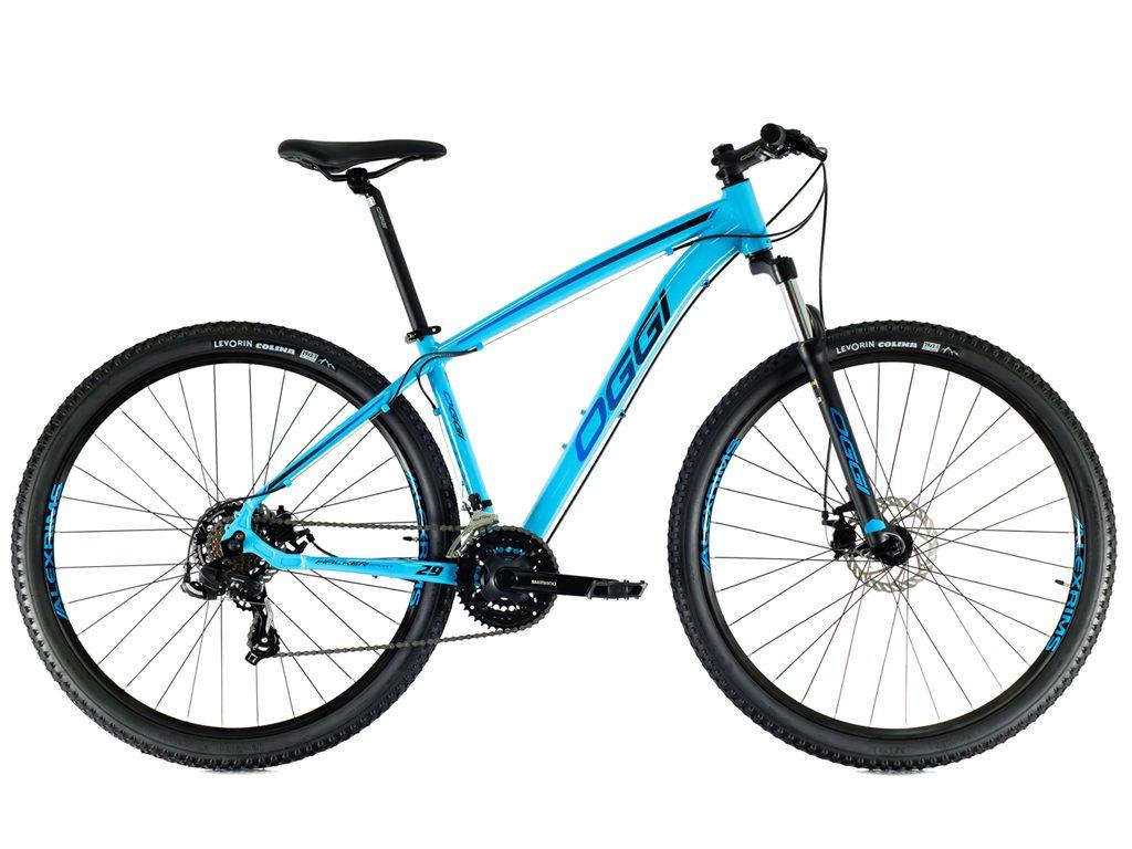 Bicicleta Oggi Hacker Sport Aro 29 21V - 2021 - Azul