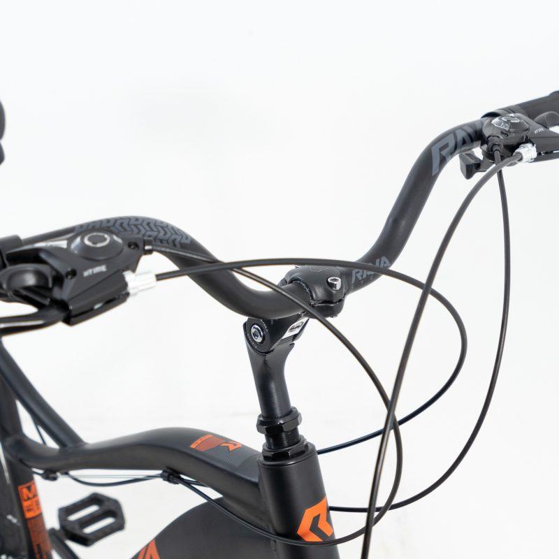 Bicicleta Rava Bolt Aro 26 21V - Preto e Vermelho